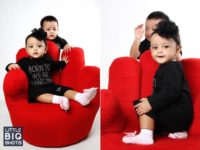 Born to wear Diamonds | Baby Studio Portraiture