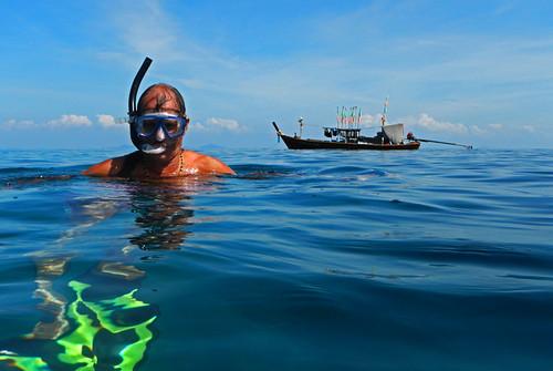 snorkelling at Koh Roc