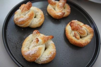 making fat buttery pretzels
