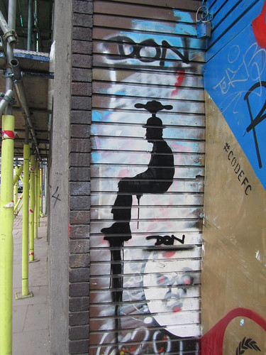 Street Art & Graffiti in Shoreditch - Don