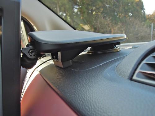 iPad in Subaru R1