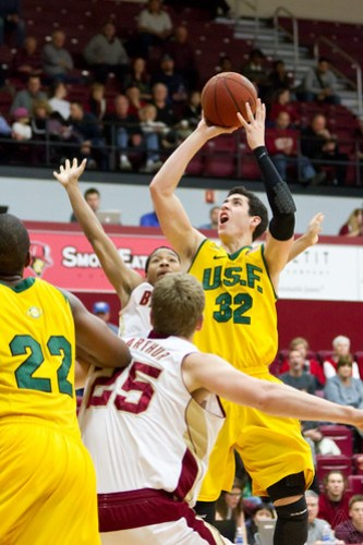 Mens-Basketball-at-Santa-Clara-University by Alex Crook