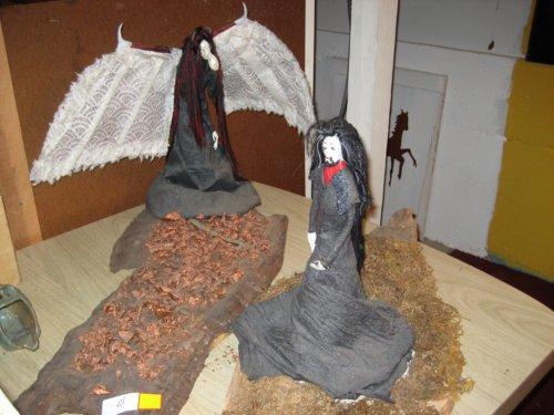 Goth sculptures