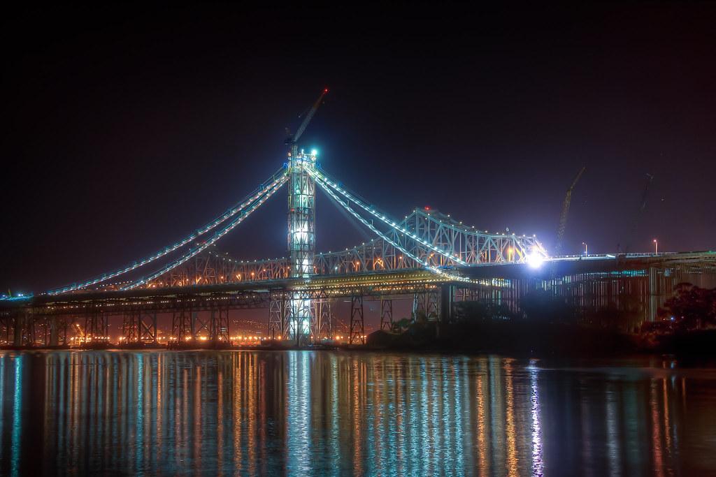 They Bay Bridge's new span