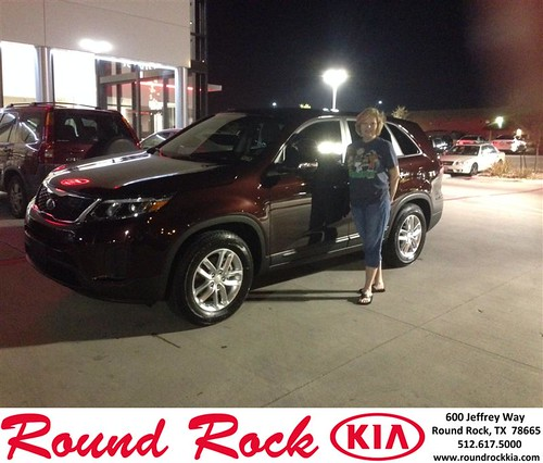 Congratulations to Cynthia Williford on your #Kia #Sorento purchase from Jorge Benavides at Round Rock Kia! #NewCar by RoundRockKia