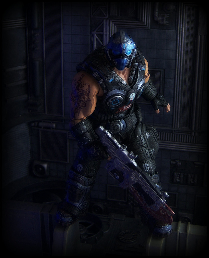 NECA Gears Of War 3 Clayton Carmine A Photo On Flickriver