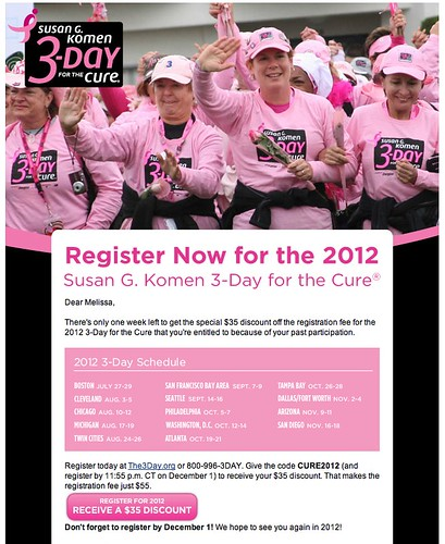 2012 - sign up email