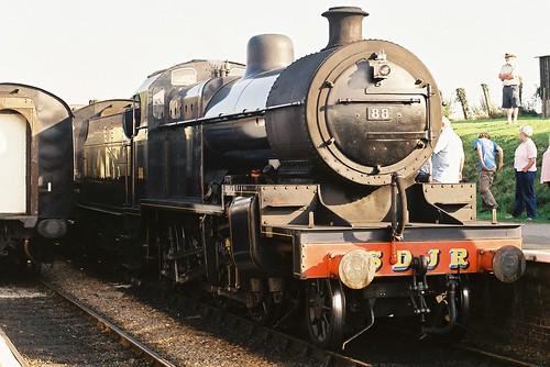 Locomotive No.88,Blue Anchor, 1st October 2011