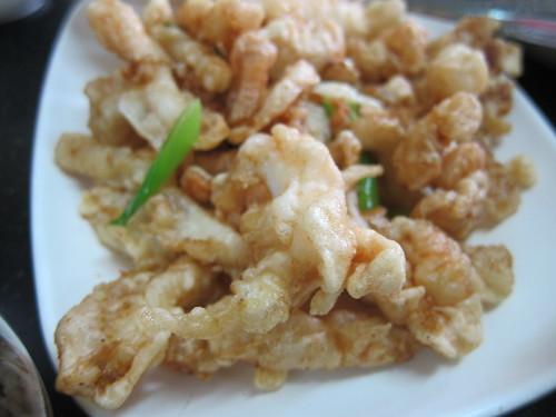Crispy Garlic Squid