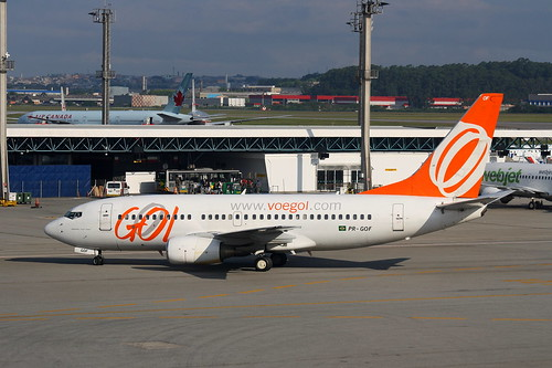 Boeing 737-700 da Gol @ SBGR