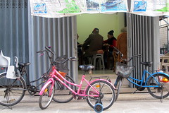 Bikes Outside the Local Hangout