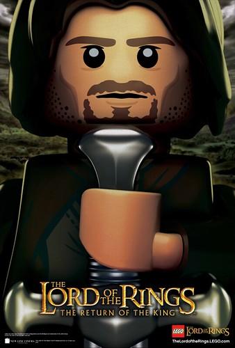 LOTR Movie Poster - Aragorn