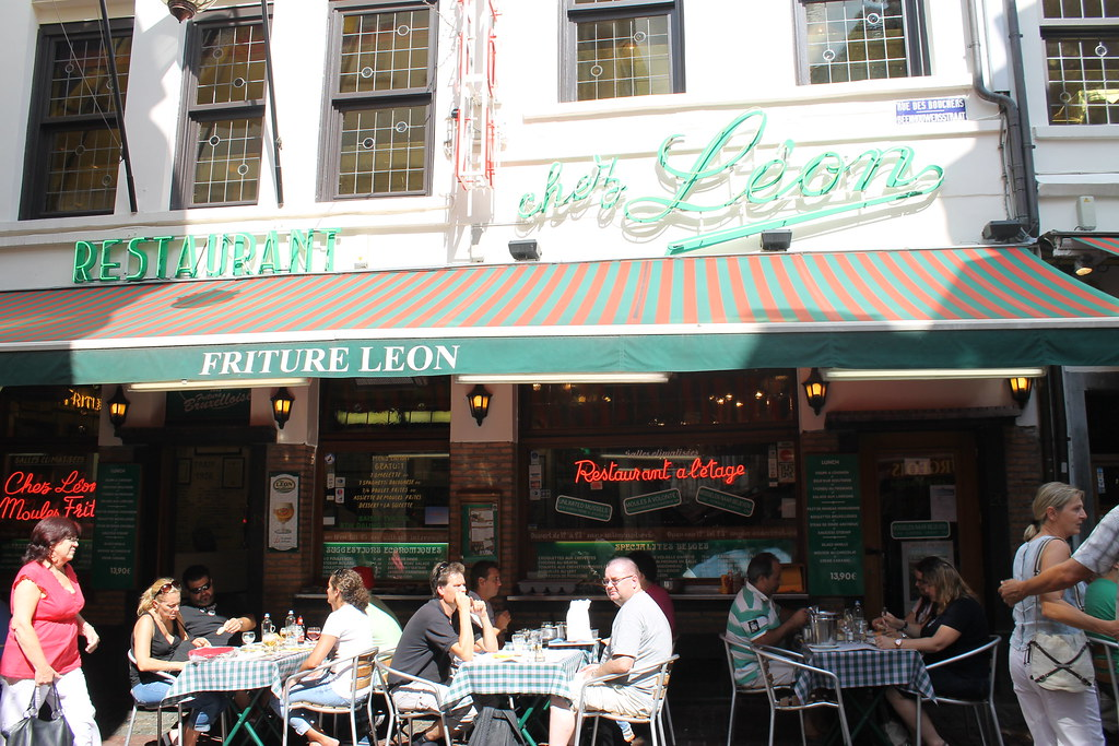 Entrada a Chez Léon