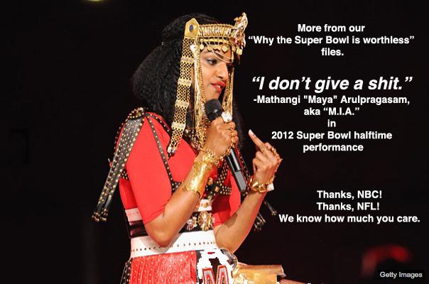 MIA Super Bowl flip off
