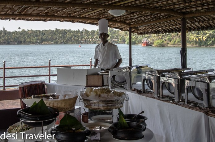 Buffet on Houseboat by ITC Welcome Group