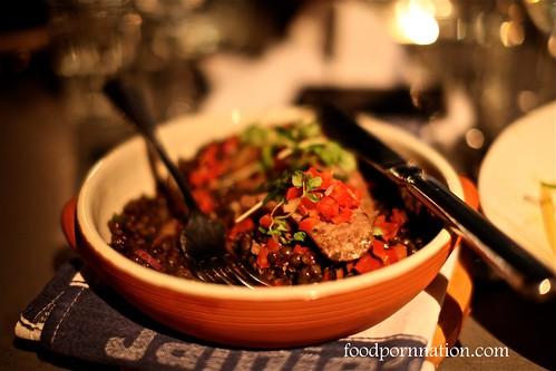 Tuscan wild boar sausages @ Jaime's Italian Sydney