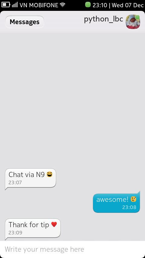 [N9] Hướng dẫn cài đặt & sử dụng Yahoo,MSN,aim ngay trong Message