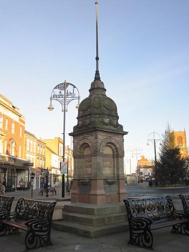Dodshons Fountain, Stockton