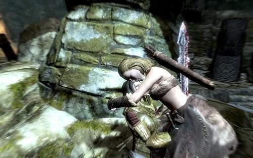 Skyrim - She's mean