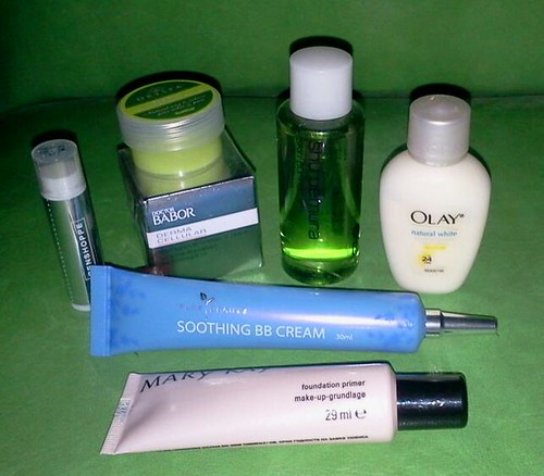 shu eumura mary kay penshoppe olay etc sampler set