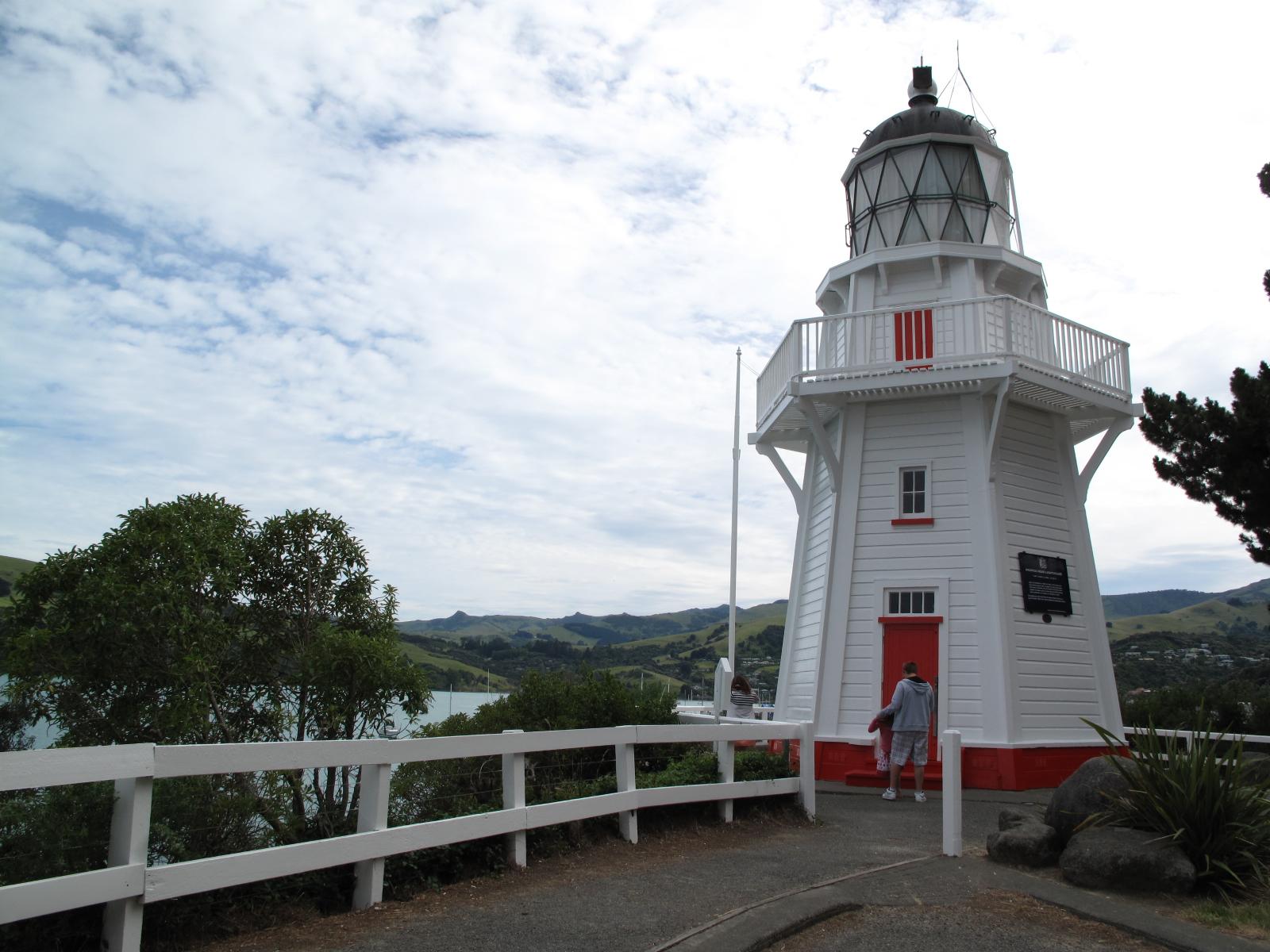 Lighthouse at Akaroa