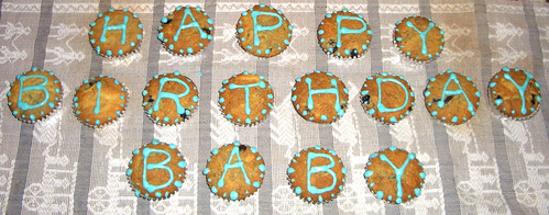 Birthday cupcakes for...