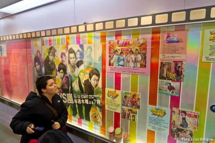 Lau y Arashi en la Fuji TV