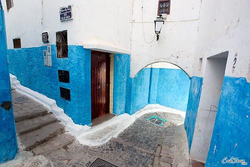 Interior de la Kasbah, RABAT