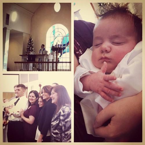 139.1: the Baptism of Gabriel Luke Crawford.