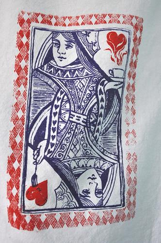 Queen of Hearts Kitchen Towel