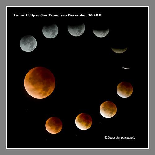 Lunar Eclipse San Francisco December 10 2011 by davidyuweb