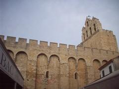 L'église. Les Saintes-Maries de la Mer.