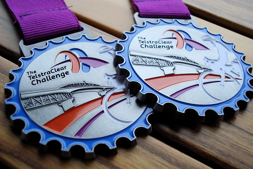 TelstraClear Challenge Medals