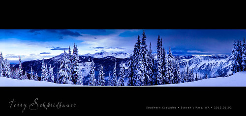 Southern Cascades by Terry Schmidbauer
