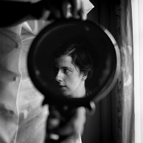 Vivian Maier on mirror