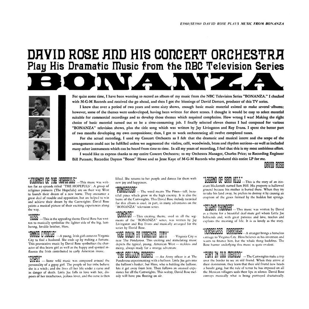 David Rose - Bonanza