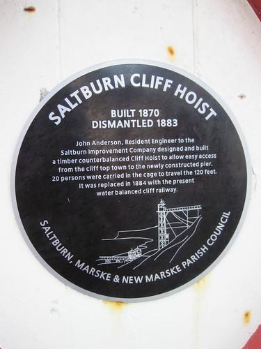 Saltburn Cliff Hoist