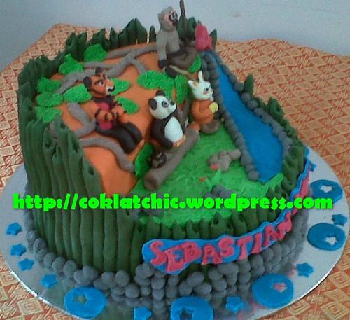 Cake Kungfu Panda