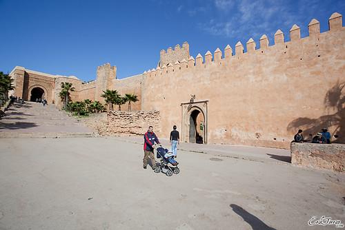 Bab Oudaia, puerta de acceso a la Kasbah. RABAT.