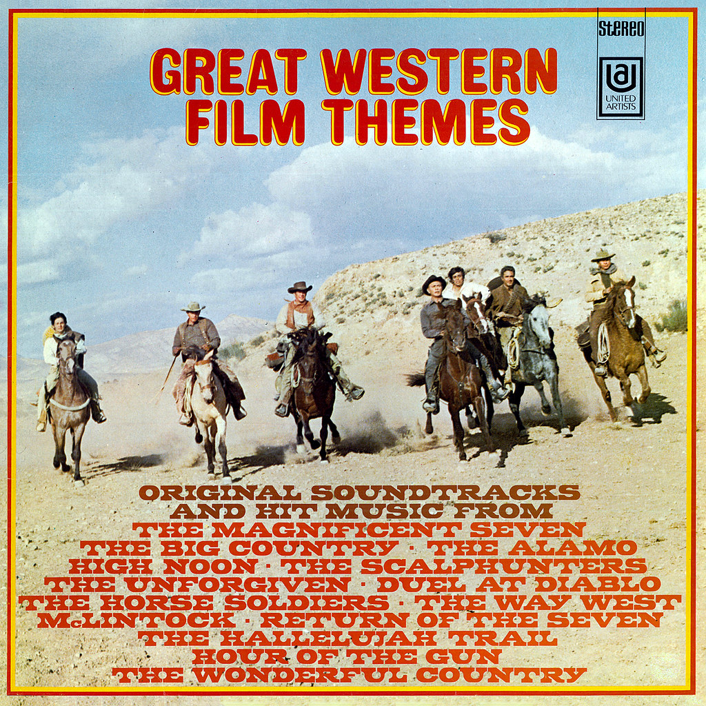 Various Artists - Great Western Movie Themes