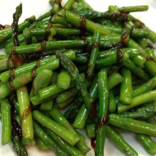 Asparagus @ Dim Sum Garden