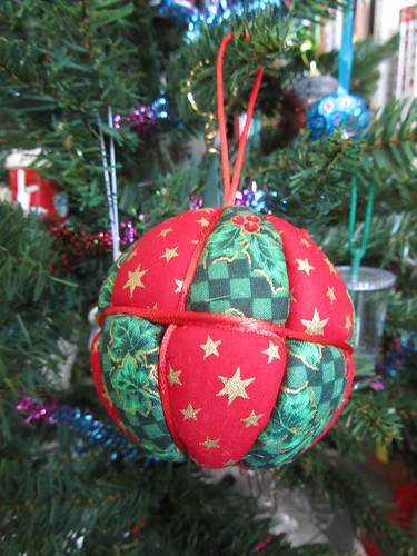 Japan Crafts - Kimekomi Christmas Bauble Kit