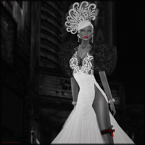 The Fashion Teller- MURDER, My Sweet Casting Contest ENTRY: Beatrice Serendipity by Fashion Teller