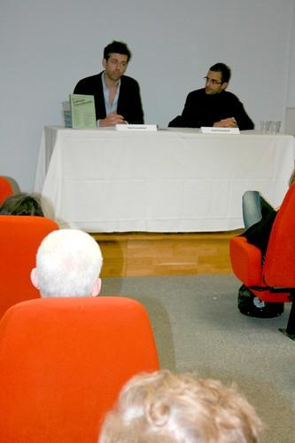 Salon du livre de Saint-Cyr 2011 : David Lacombled et Arash Derambarsh by Arash Derambarsh