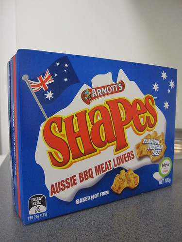 Arnott's Shapes Aussie BBQ Meat Lovers Flavour