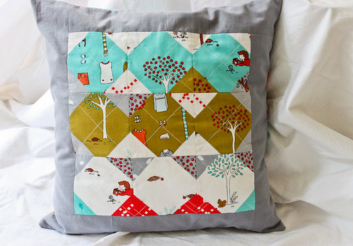 Little Apples Pillow Cover - Front