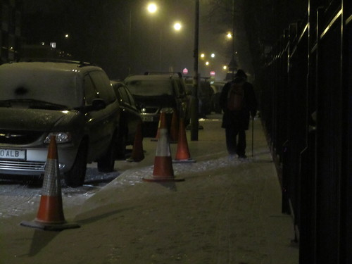 Snowy North London