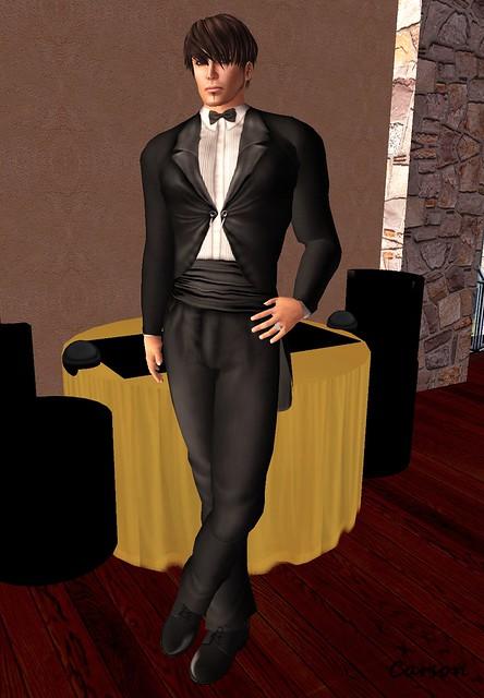 Geezer Garments - Black Smokin' Tuxedo