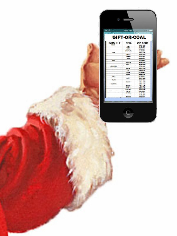 Naughty or Nice? Santa's Tracking System.