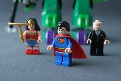 6862 Superman vs Power Armor Lex - Superman 2
